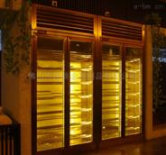 厂家不锈钢恒温酒柜定制尺寸 环保酒架